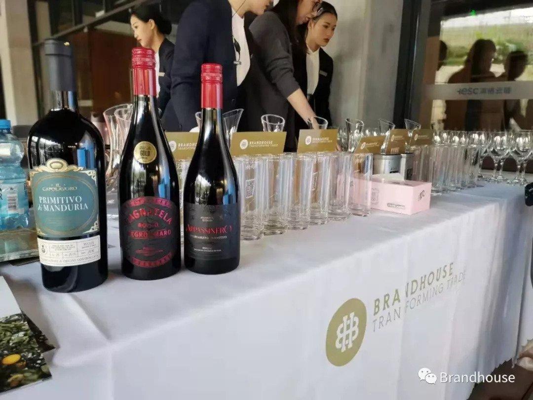 In Vino Veritas: Wine tasting event in BrandHouse showroom in Shenzhen, China