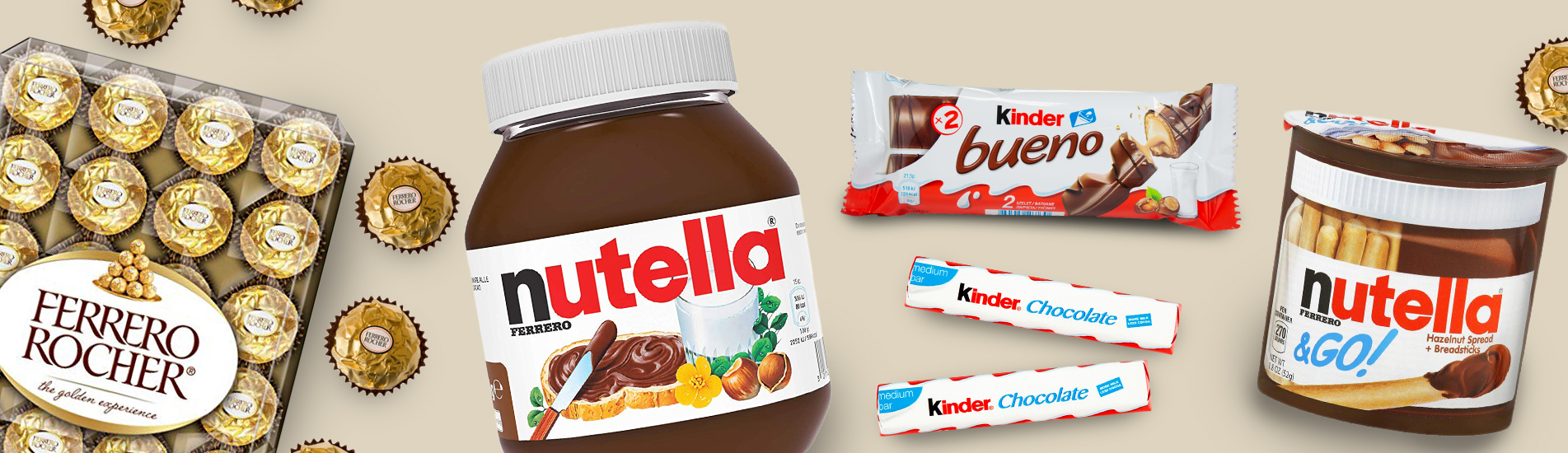 Ferrero and Nutella – premium Italian chocolate with long tradition
