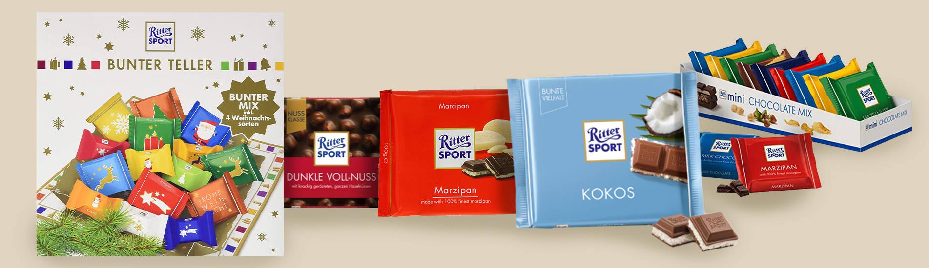 Ritter Sport – German precision and innovation in a chocolate